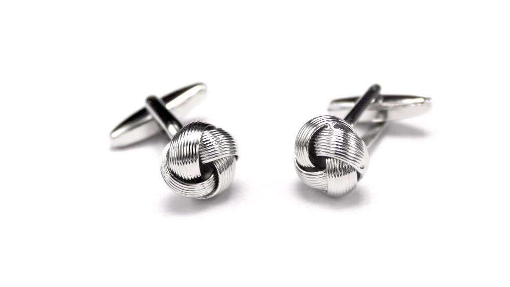 Silver Knot Cufflinks