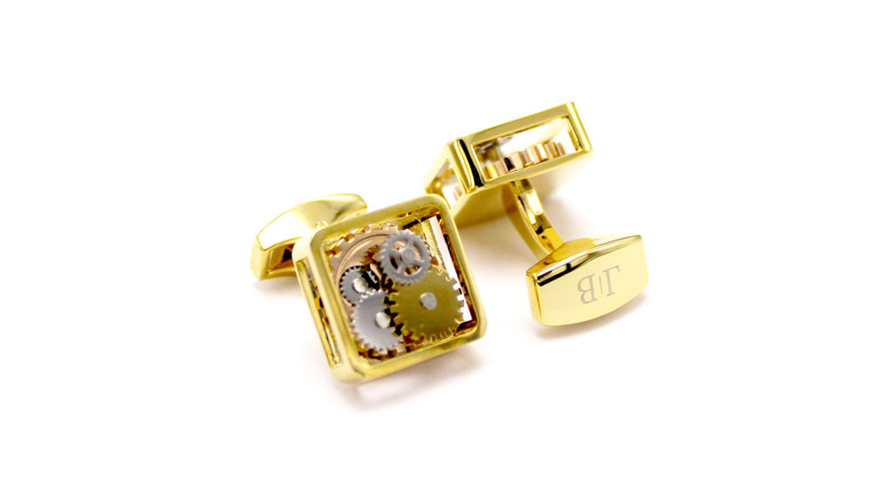 Quad Face Button – Aurelian Cufflinks