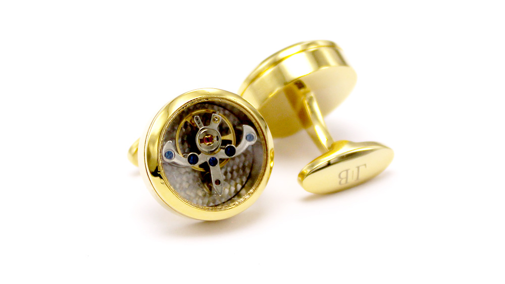 Timeless Tourbillon – Aurelian Cufflinks